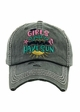 GIRLS Just Wanna HAVE SUN Baseball Hat inset 3