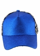 Glitter and Leopard Ponytail Baseball Hat inset 3