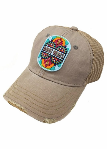 Good Vibes Designer Baseball Hat