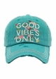 Good Vibes Only Baseball Hat inset 1