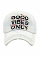 Good Vibes Only Baseball Hat inset 3
