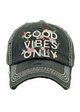 Good Vibes Only Baseball Hat inset 4