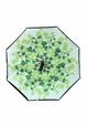Green Leaves Inverted Stand-Up Umbrella inset 1