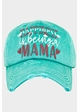 Happiness is Being a Mama Vintage Baseball Hat inset 1