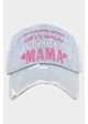 Happiness is Being a Mama Vintage Baseball Hat inset 2