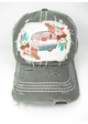 Happy Camper Boho Baseball Hat inset 1