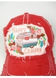 Happy Camper Boho Baseball Hat inset 2