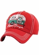 Limited Edition Happy Camper Holiday Baseball Hat inset 4