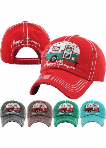 Limited Edition Happy Camper Holiday Baseball Hat