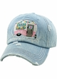 HAPPY CAMPER Spring Washed Vintage Ballcap inset 1