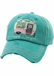 HAPPY CAMPER Spring Washed Vintage Ballcap inset 2