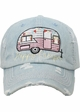 Happy Camper Vintage Ball Cap inset 2