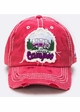 Happy Camper Vintage Patch Baseball Hat inset 1