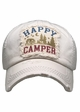 Happy Camper Washed Vintage Baseball Cap inset 1