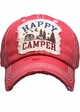 Happy Camper Washed Vintage Baseball Cap inset 3