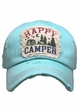 Happy Camper Washed Vintage Baseball Cap inset 4