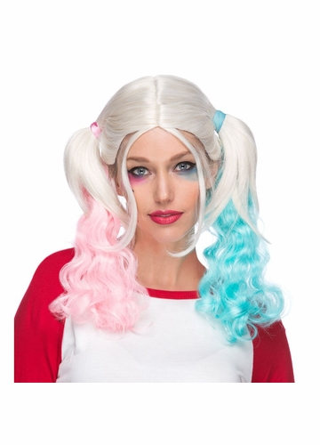 Harley Quinn Costume Wig