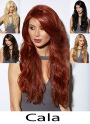 Heat and Styling Friendly Long Hair Cala Wig