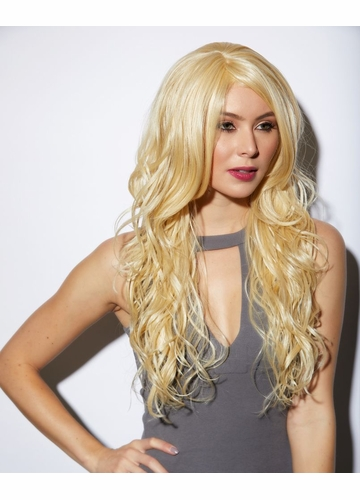 Heat and Styling Friendly Long Hair Cala Wig in Blonde