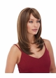 Heat Friendly Shoulder Length Bob Wig /W Graduated Layers & Rich Bangs inset 1