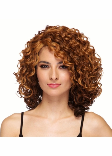 Heat Safe Lace Front Curly Wig Skylar