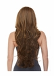 Heat Safe Lace Front Wig Kim with Very Long Tousled Curls inset 3
