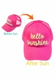Hello Sunshine Color Changing CC Ponytail Trucker Hat inset 2