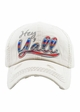 HEY Y'ALL SERAPE Washed Vintage Ballcap inset 1