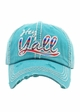 HEY Y'ALL SERAPE Washed Vintage Ballcap inset 3