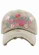 Hey Yall in Bloom Baseball Hat inset 4