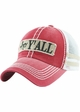 Hey Yall Vintage Mesh Trucker Hat inset 1