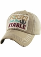 HORSES KEEP ME STABLE Vintage Baseball Hat inset 4
