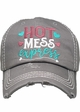 Hot Mess Express Vintage Baseball Hat inset 1