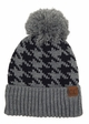 Houndstooth Pattern CC Hat with Pom inset 4