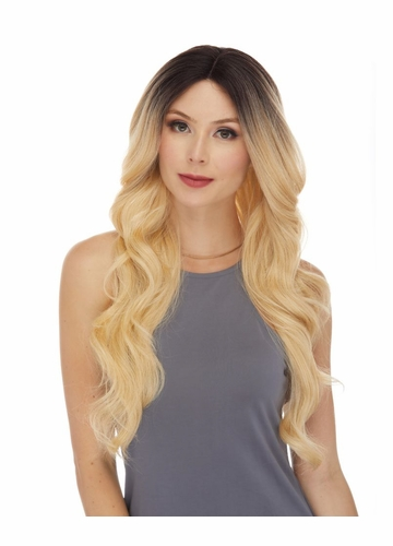Human Hair Blend Lace Front Wig Alison
