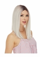 Human Hair Blend Lace Front Wig Dove inset 1