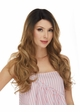 Human Hair Blend Lace Front Wig Selena inset 1