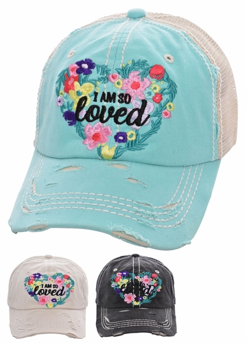 I Am So Loved Trucker Baseball Hat