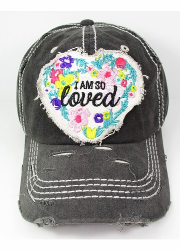 I Am So Loved Vintage Baseball Hat