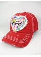 I Am So Loved Vintage Baseball Hat inset 1