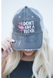 I don't Give A Flock Hat inset 1