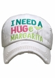 I Need a Huge Margarita Washed Vintage Baseball Cap inset 2