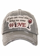 I You Can Read This Bring Me Some Wine Baseball Hat inset 3
