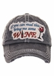 I You Can Read This Bring Me Some Wine Baseball Hat inset 4