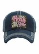 IMMA PRAY FOR YOU Washed Vintage Ballcap inset 1