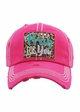 IMMA PRAY FOR YOU Washed Vintage Ballcap inset 3