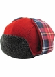 Inner Plaid Trapper Hat inset 3
