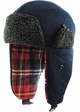 Inner Plaid Trapper Hat inset 4