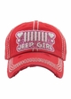 Jeep Girl Vintage Wash Baseball Hat inset 3