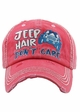 Jeep Hair Don't Care Baseball Hat inset 1
